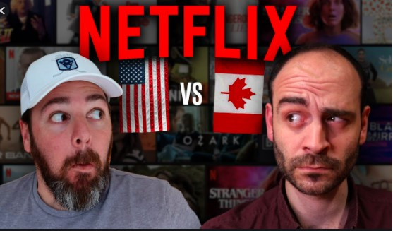 Netflix Canada Different from Netflix US