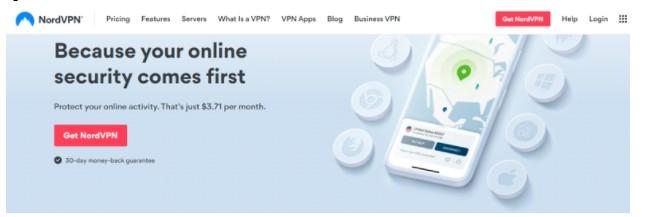 go official site NordVPN