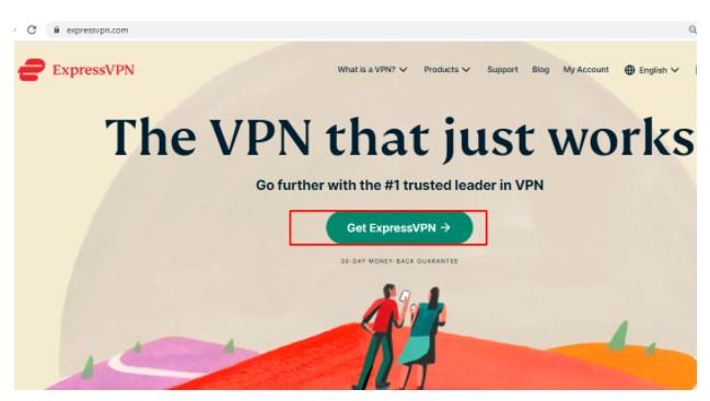 Official site ExpressVPN