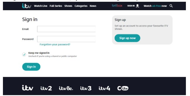 Select UK server
